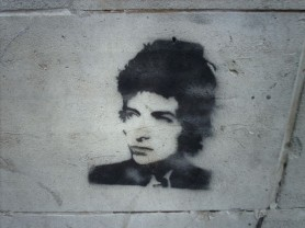 Bob Dylan. Graffiti in Manchester (UK). Foto: hugovk, 2006, Flickr. Lizenz: http://creativecommons.org/licenses/by-nc-sa/3.0/
