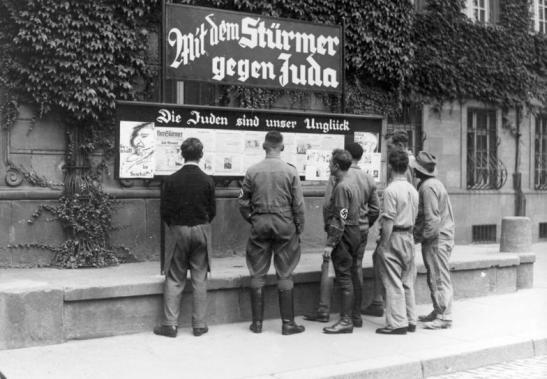 Worms, Antisemitische Presse,
